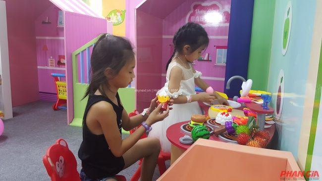 Khu vui chơi trẻ em là giải pháp vui chơi dành cho trẻ em được rất nhiều phụ huynh ưa chuộng.