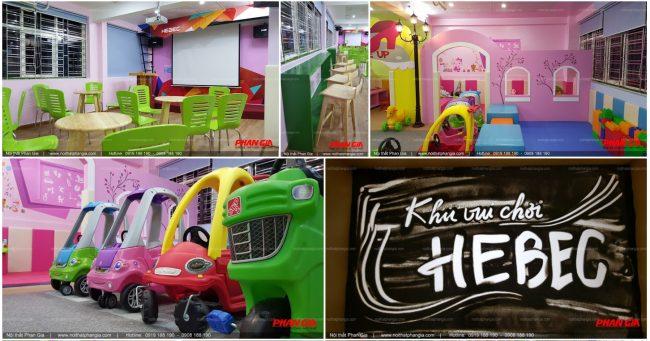 Lựa chọn đơn vị thiết kế - thi công khu vui chơi uy tín để có những mẫu thiết kế khu vui chơi đặc sắc.