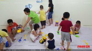 Hồ chơi cát trong khu vui chơi Bookingdom - Vũng Tàu