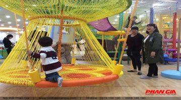 Khu vui chơi trẻ em được thiết kế độc đáo.