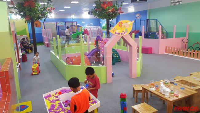 Khu vui chơi Vườn Hồng – Bình Dương được khách hàng rất ưa chuộng bởi dịch vụ chất lượng và sạch sẽ.