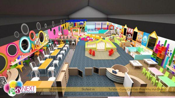 Phối cảnh 3D Khu vui chơi Kids City Vũng Tàu