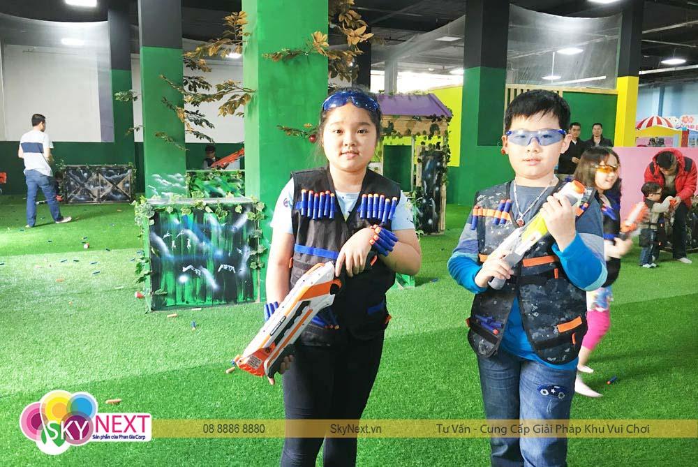 bắn súng trẻ em | đấu trường nest gun