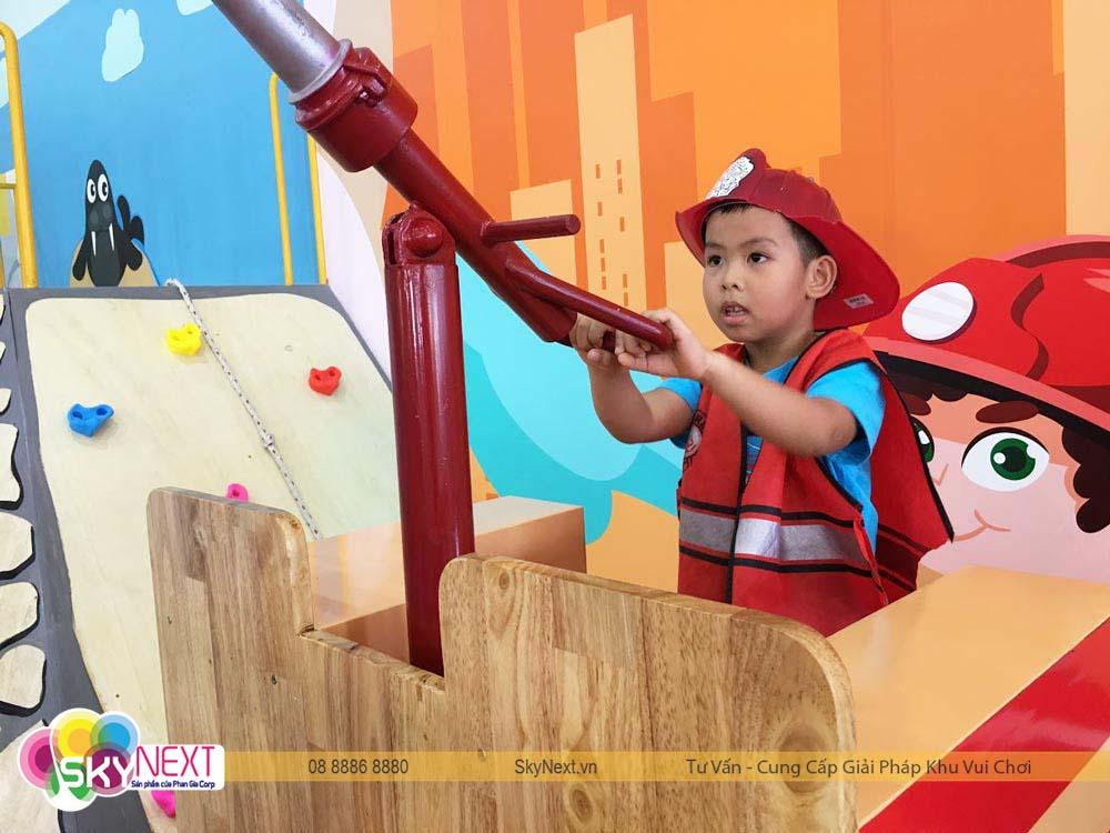 Bé cứu hỏa Kids City VT