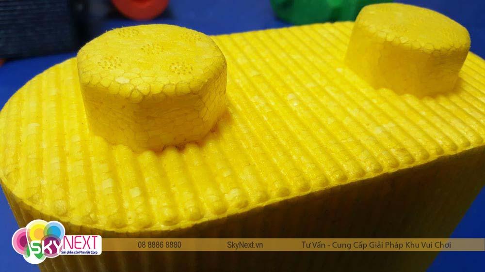 Block xốp vàng