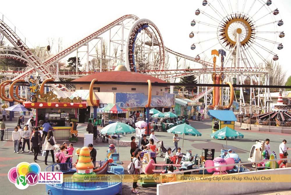 công viên giải trí cho bé