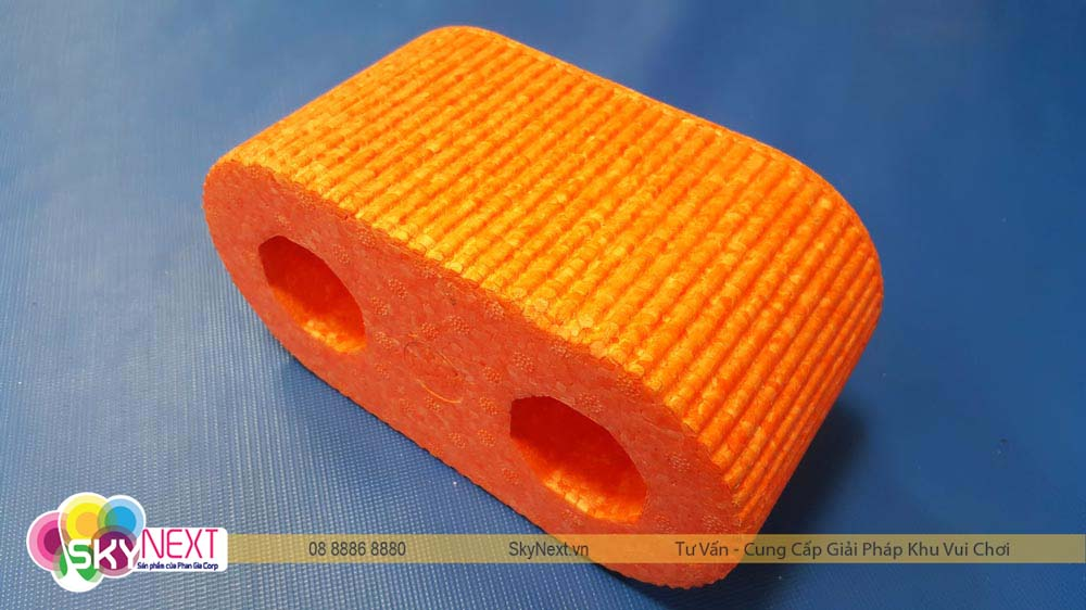 Khối xốp Art màu cam