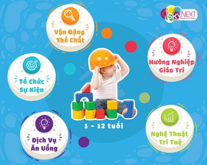 Giải pháp thiết kế khu vui chơi cho bé