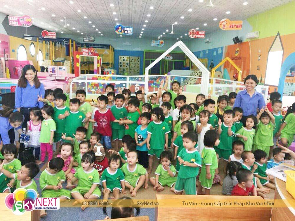 Kids City Vũng Tàu đón đoàn trường mẫu giáo