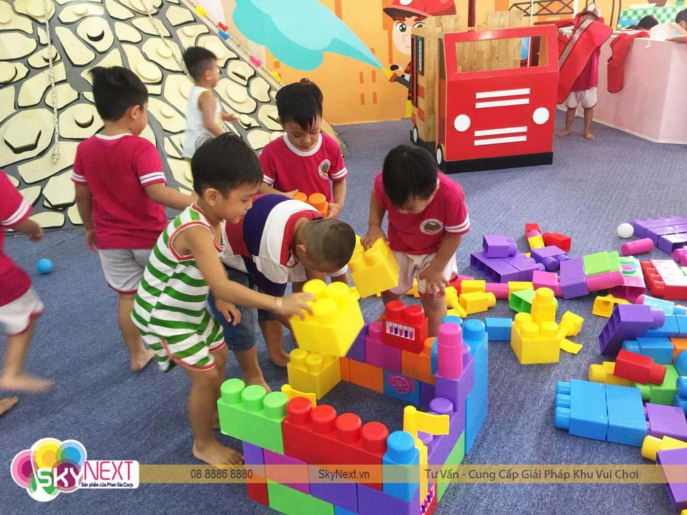 Lắp ghép lego Kids City