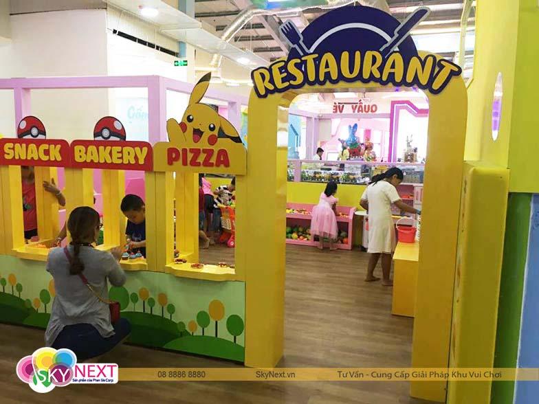 Nhà hàng mini trong TyTy Kids