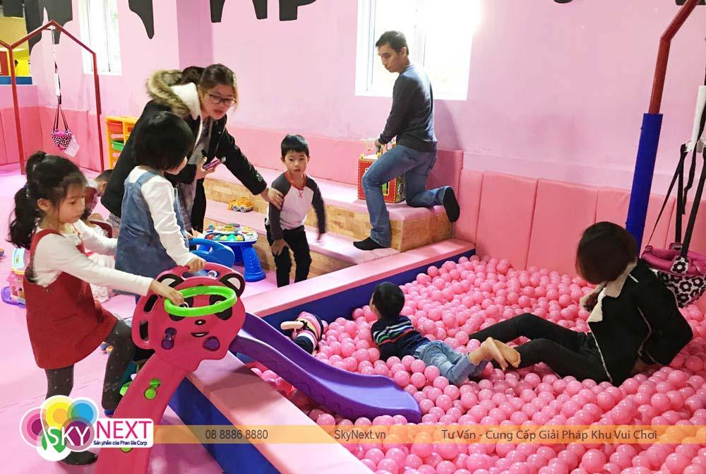 Phòng chơi dành riêng cho trẻ nhỏ