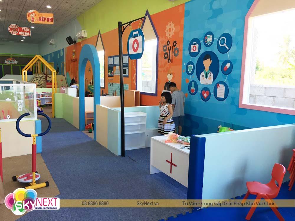 Quang cảnh khu vui chơi Kids City Vũng Tàu