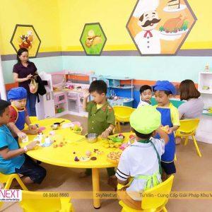 Bé chơi nhà hàng kids city HG