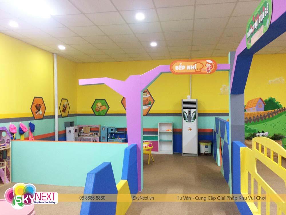 Bếp nhí Kids City Hậu Giang