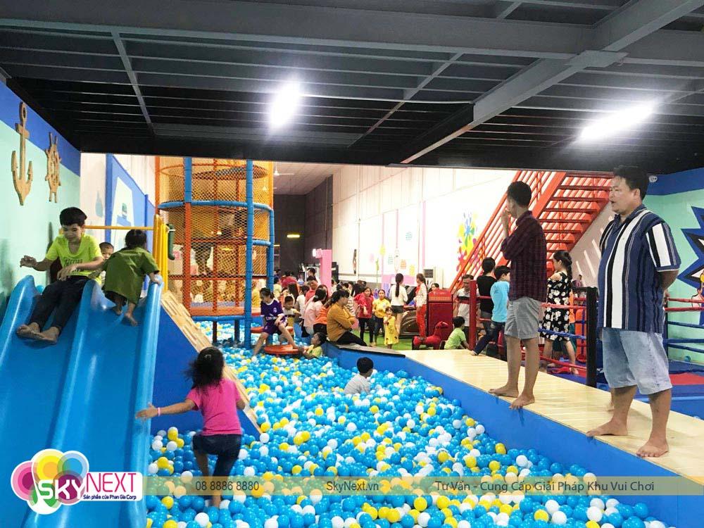Góc Khu vui chơi Kids City Hậu Giang