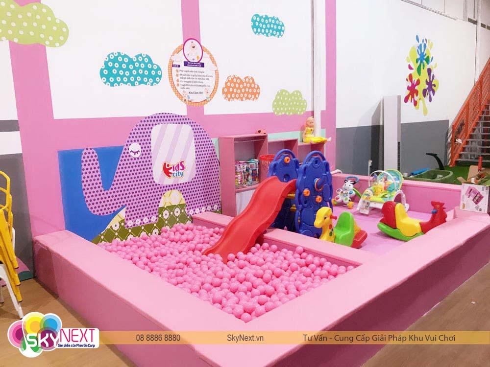 Khu chơi baby Kids City Hậu Giang