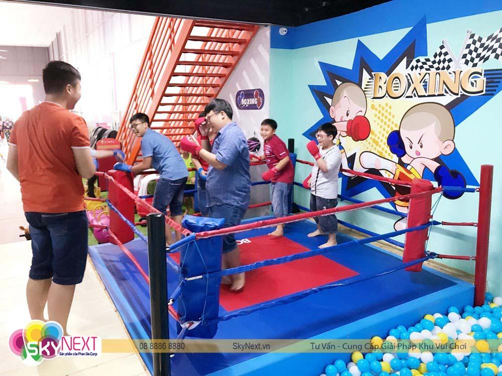 Khu chơi Boxing Kids Hậu Giang