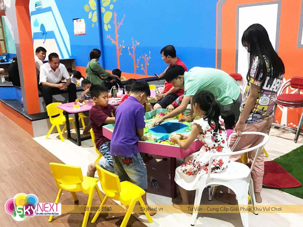 Khu chơi cát động học kids city HG