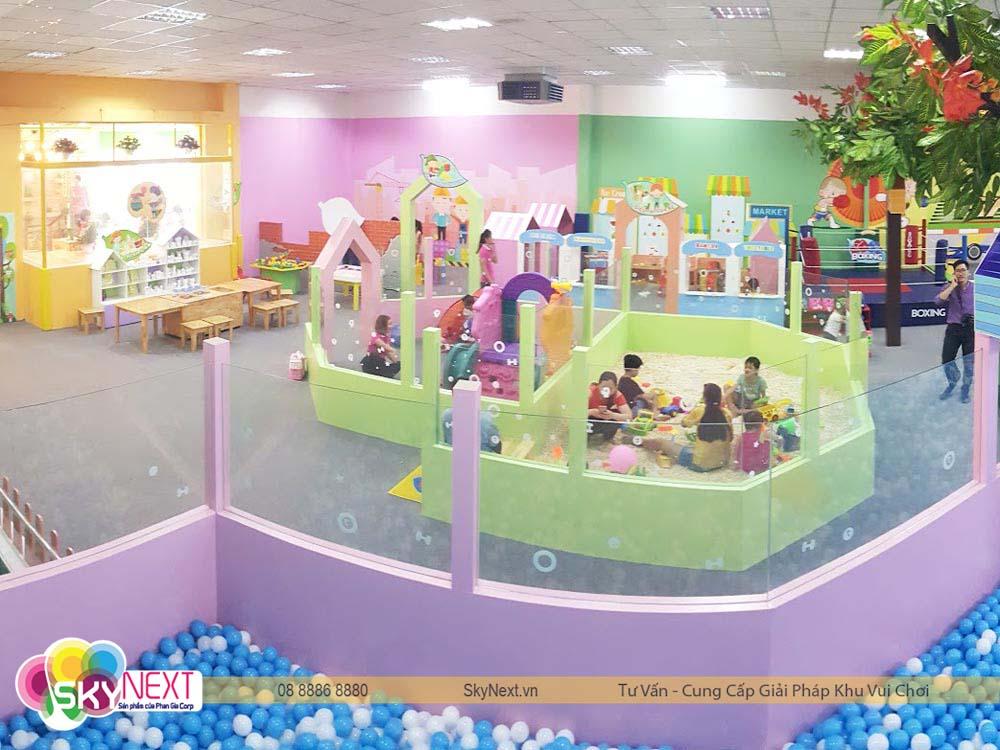 Khu vui chơi dành cho bé tại Bình Dương