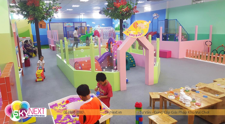 Khu vui chơi trẻ em Vườn Hồng