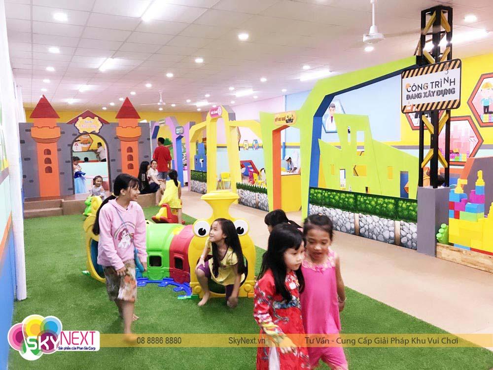 Tầng 2 khu vui chơi Kids City Hậu Giang