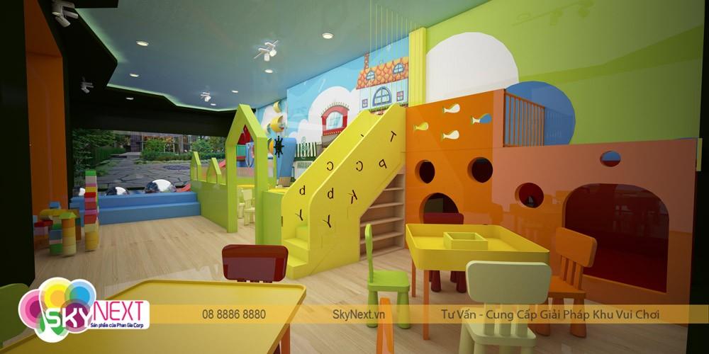 Phối cảnh 3D khu vui chơi Zoo