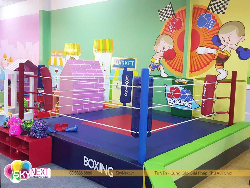 Sàn Boxing Vườn Hồng