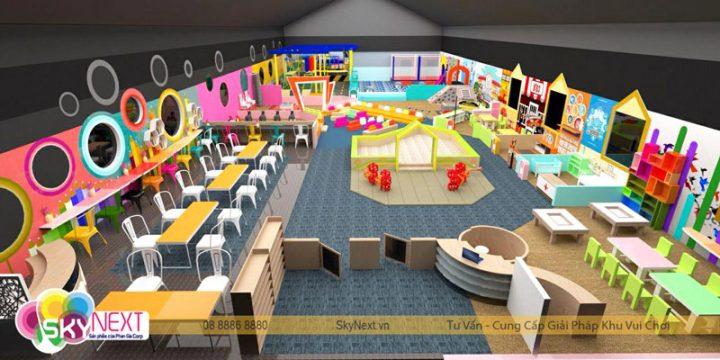 Kế hoạch KDKVC khu vui chơi trẻ em trong nhà