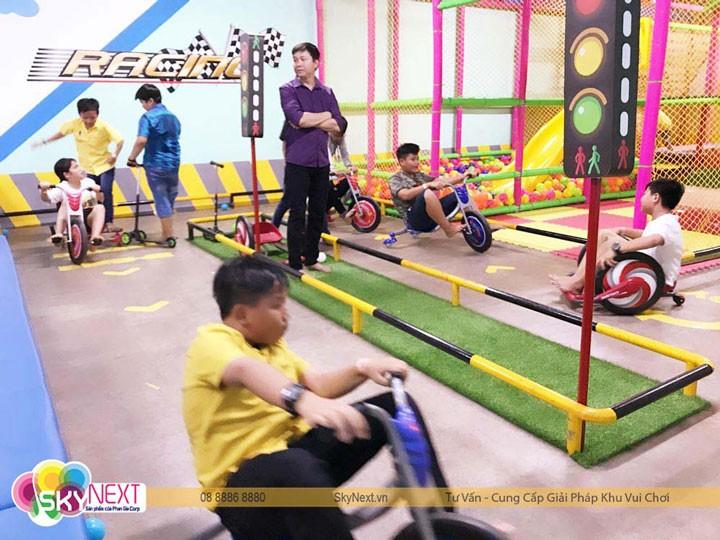 Mô hình khu vui chơi trong nhà đa năng