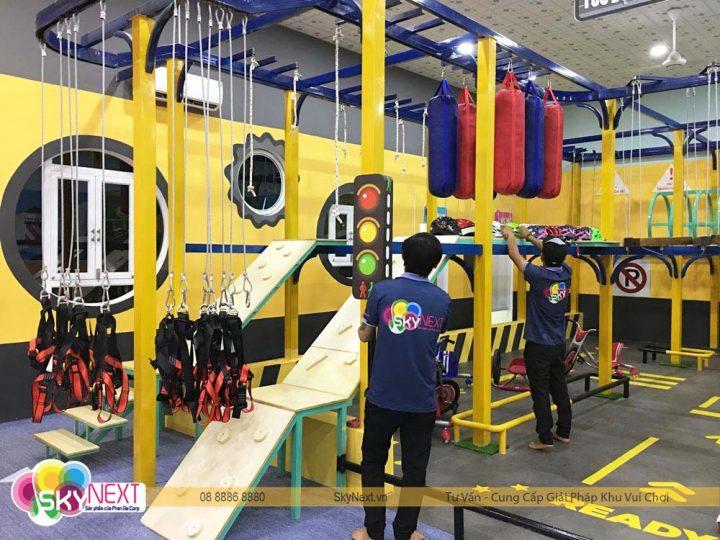 SkyNext thi công khu vui chơi Kids City Vũng Tàu