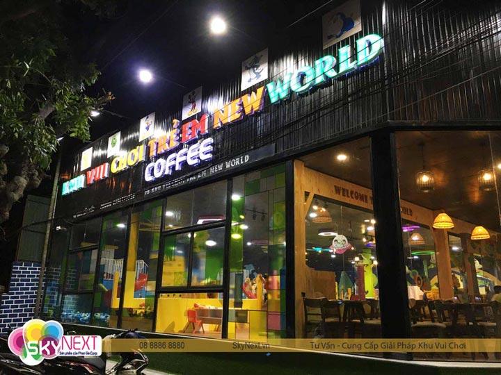 Biển của hiệu khu vui chơi New World