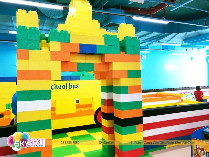 Cổng chào bằng Lego Xốp