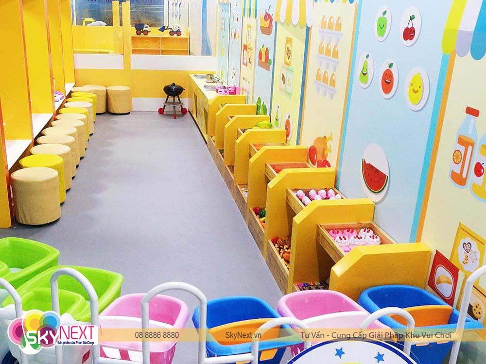 Quầy siêu thị khu vui chơi Mr HaaHoo