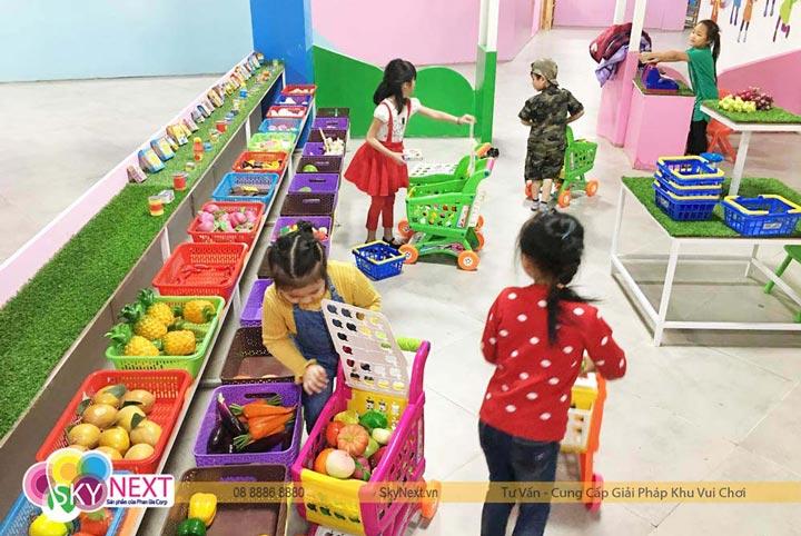 Thu vui giải trí cho trẻ tại Ladalat