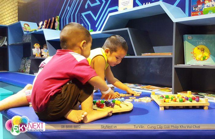 Hệ thống khu vui chơi trẻ em TiniWorld qua Bài văn miêu tả