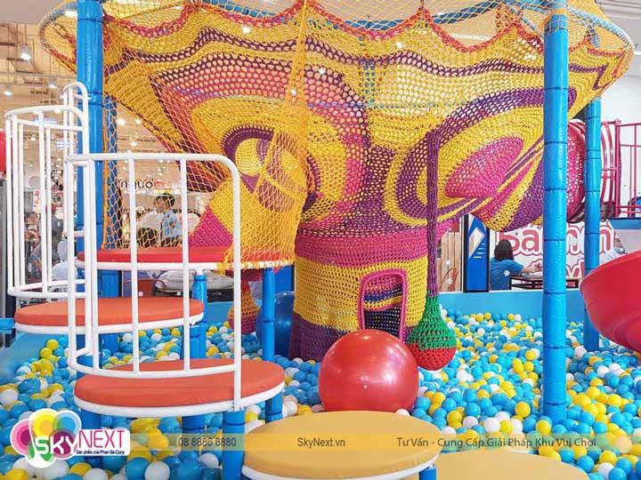 Cây skynext trong khu vui chơi là sản phẩm độc quyền của Phan Gia
