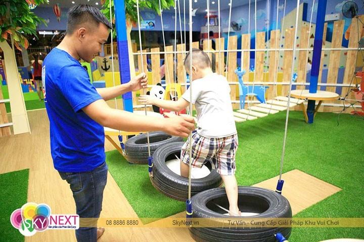 Chi phí cho nhân viên hướng dẫn trong khu vui chơi