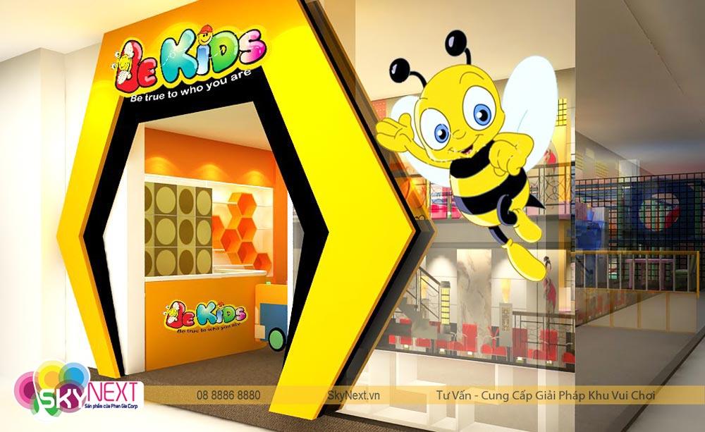 Cổng vào khu vui chơi Be Kids