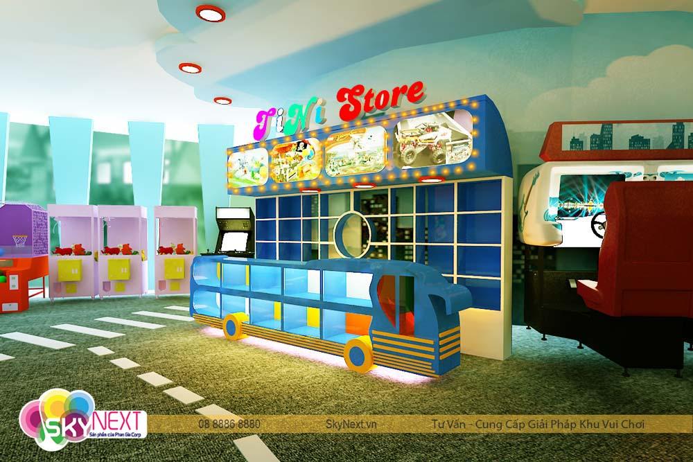 cửa hàng đồ chơi tini store trong tiniworld quận 7