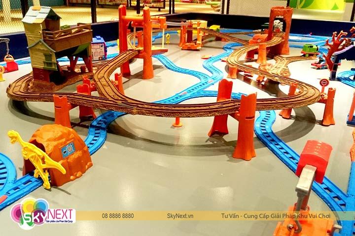 Đường đua cho xe mô hình Hotwheels