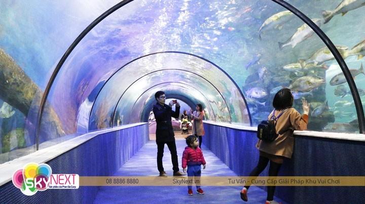 Đường hầm thủy cung Vike Time City