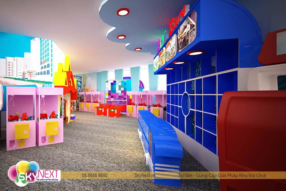 góc khu vui cjhoiw cho trẻ em tiniworld quận 7