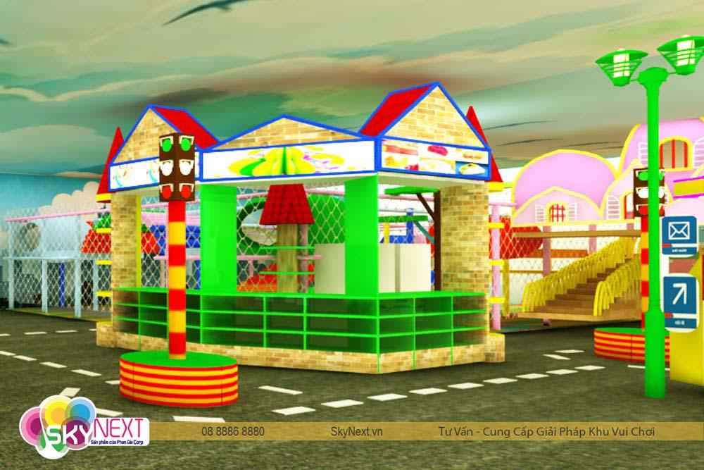 Góc khu vui chơi giải trí cho bé Quận 7 Tiniworld