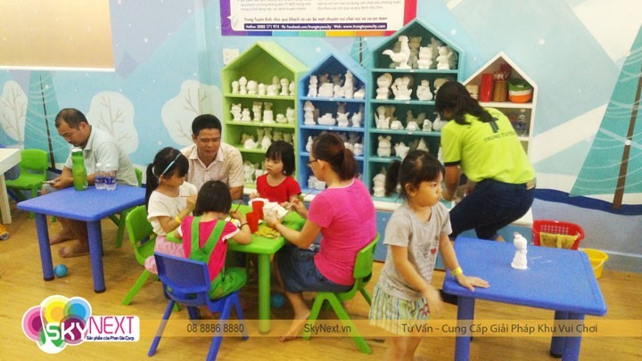 hoạt động vui chơi của trẻ em được ưu tiên