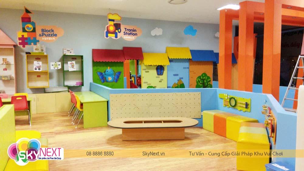 Khu đọc sách cho bé tại PlayTime Biên Hòa