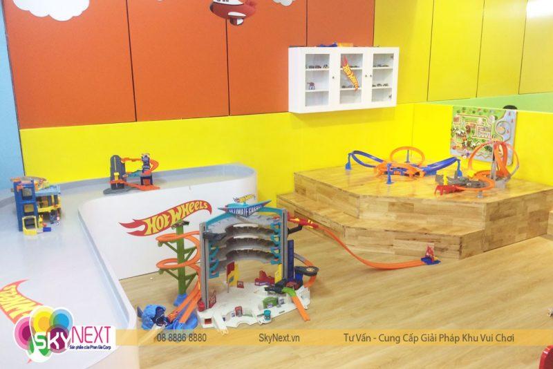 khu đua xe mô hình Hotwheels cho trẻ em
