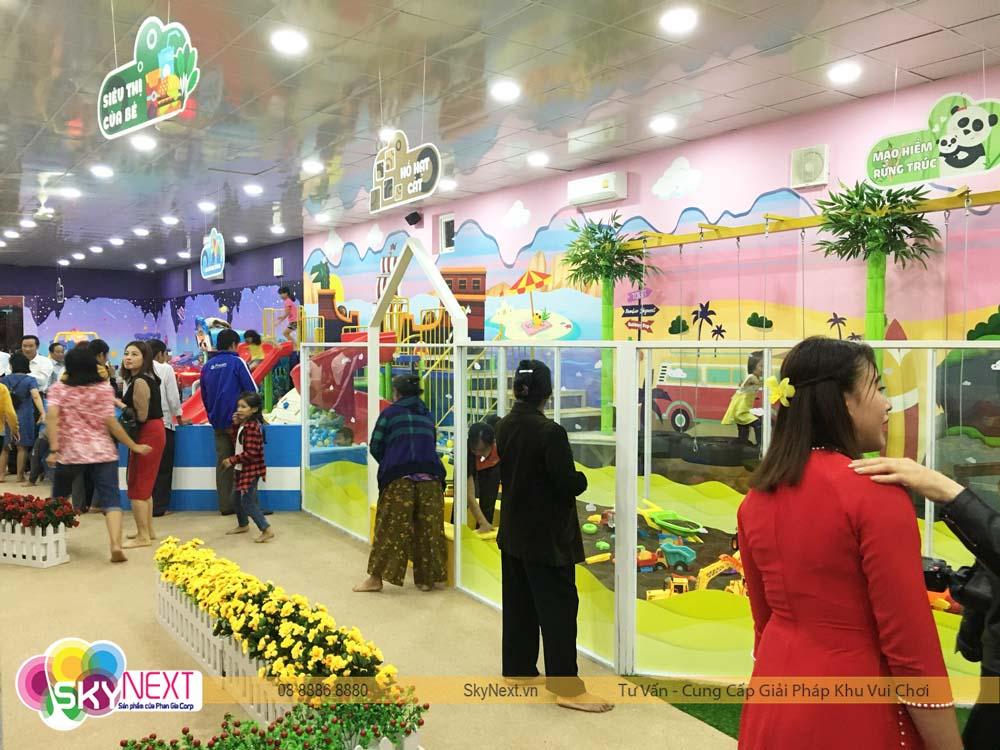Khu liên hoàn vận động cho trẻ PIT POK Hà Tĩnh