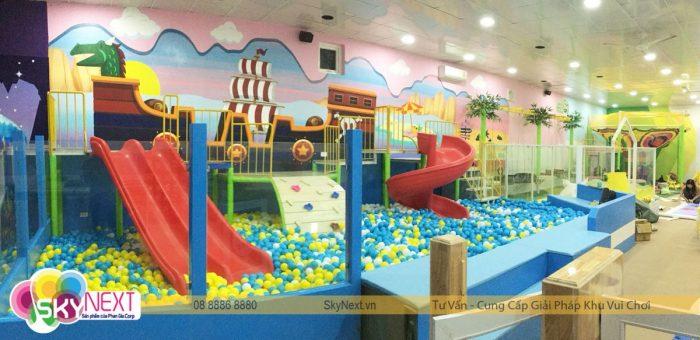 Khu vui chơi dành cho trẻ em Hà Tĩnh Pit Pok