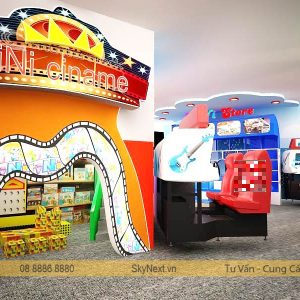 khu vui chơi dành cho trẻ em TiniWorld Quận 7